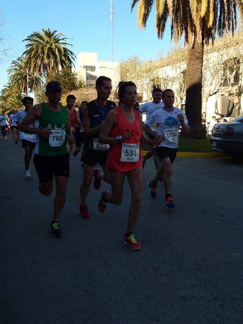 Atletismo - Yani Clair obtuvo un 8° lugar en su categoría en la Maratón Dino Tinelli de la Ciudad de Bolivar.