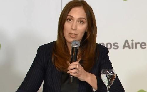 M. E. Vidal ordenó una auditoría, pidió la renuncia de la contadora provincial y propuso nueva ley bancarizando aportes a los partidos politicos