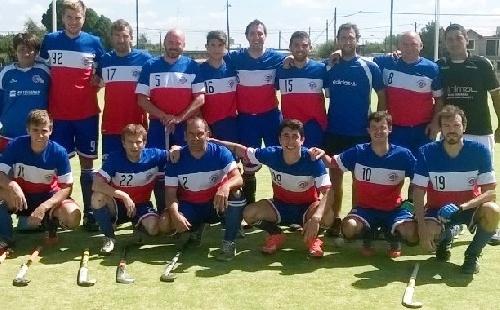 Hockey Masculino - Con goles de Tizón y Wagner el Cef empató con Boca de Coronel Suárez.