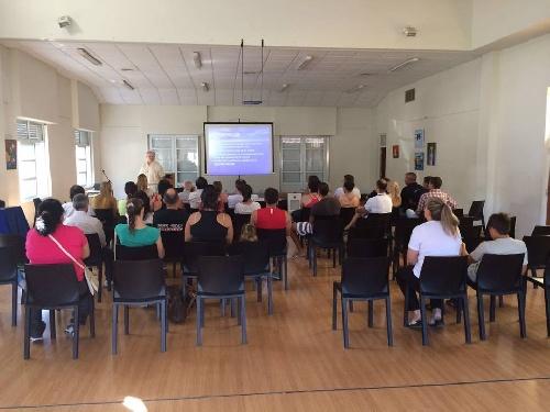 Se realizó curso de RCP en la ciudad de Carhué