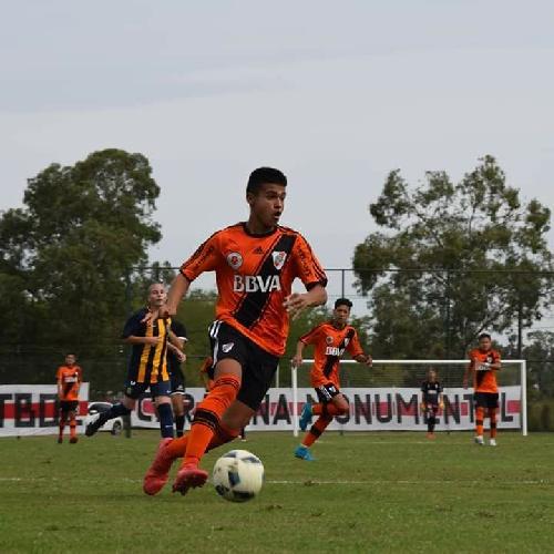 AFA - Inferiores - Gabriel Mercado debutó en la novena de River Plate con un empate ante Rosario Central.