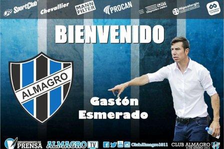 Nacional B - Gastón Esmerado es el nuevo técnico de Almagro.