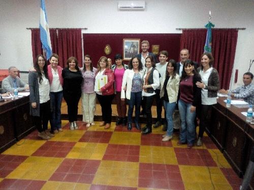 EL Concejo Deliberante homenajeó a la Escuela 14 en su 25º Aniversario