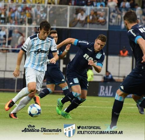 AFA - 1ra División - Atlético cayó ante Racing. Leandro González autor de un gol para los tucumanos.