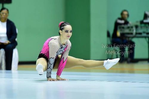 Sol Magdaleno es finalista en Perú del Campeonato Sudamericano de Gimnasia aeróbica