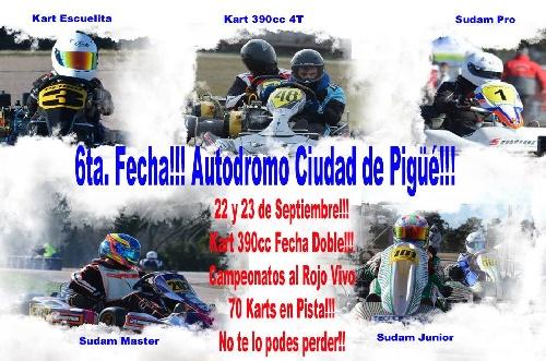 Karting - La actividad vuelve a presentarse en el Autódromo local.