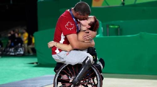 Juegos Paralímpicos Rio 2016: la historia de amor detrás del beso que conmovió al mundo
