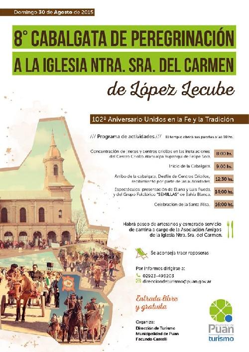 Puan:8º Cabalgata Peregrinación a la Iglesia de López Lecube