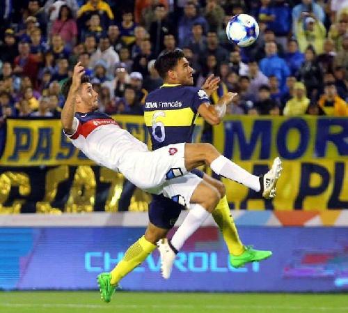 En vibrante cotejo, Boca Juniors y San Lorenzo empataron dos a dos en Mar del Plata.