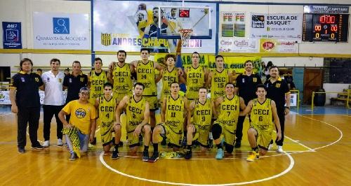 Basquet Santa Fe - CECI BC debutó como local derrotando a Libertad.