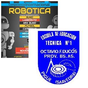 Alumnos de la Escuela Técnica participan de una Competencia Internacional de Robótica