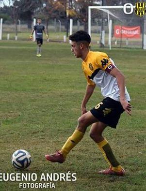 Nicolas Cabral compitió con la reserva de Olimpo en amistosos en Puerto Madryn.