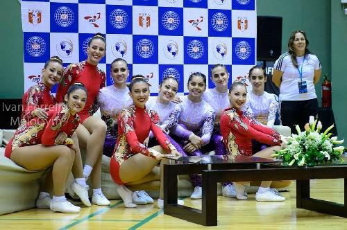 Sol Magdaleno Campeona Panamericana de Gimnasia Aeróbica