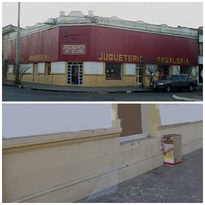 Rompen vidriera en pleno centro de Pigüé para robar en el local de Todo x 1,99