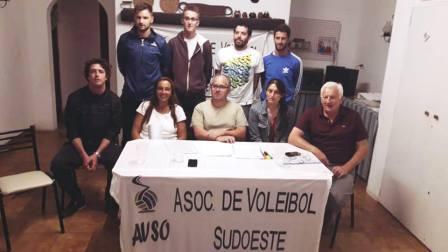 Voley - Renovada la CD de la AVSO, Martín Benítez es su nuevo presidente.