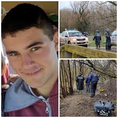 El joven suarense Loos apareció muerto con un disparo en la cabeza cerca del puente del Paso de los Chilenos