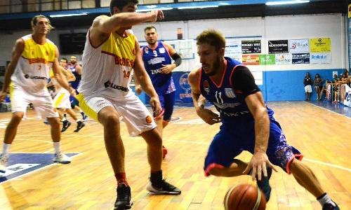 Basquet Federal - 16 puntos de De Pietro para la victoria de Racing sobre el escolta Belgrano de San Nicolas.