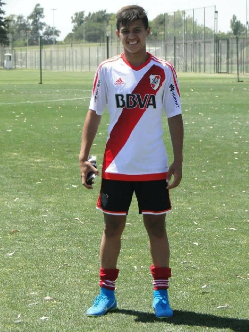 AFA - Inferiores - Dos goles de Gabriel Mercado para la goleada de River ante San Martín de San Juan.