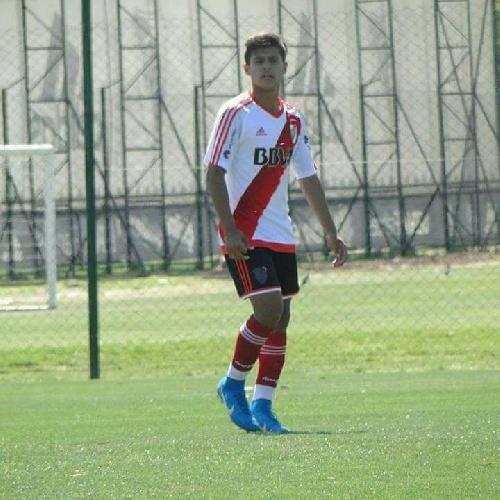 Gabriel Mercado marcó los tres goles con los que River Categoría 2004 venció en amistoso a Ferrocarril Oeste.