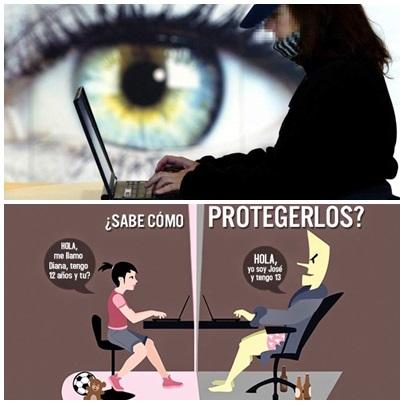 Cuidar a los chicos de los depredadores sexuales en las redes sociales