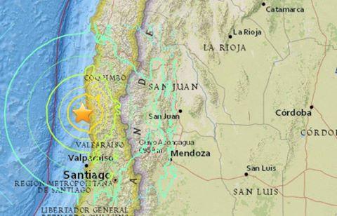 Sismo de 8.3º en Chile (con alerta de tsunami) sacudió varias provincias argentinas y también se sintió en CABA