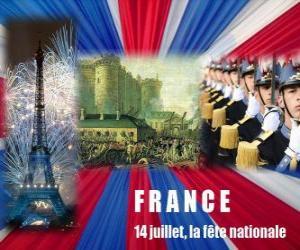 Pigüé : Actos por el dia Nacional de Francia