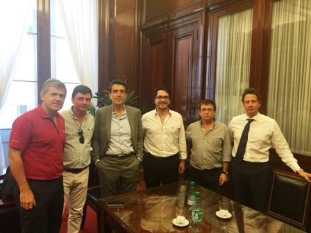 Melconián se reunió con productores del NOA