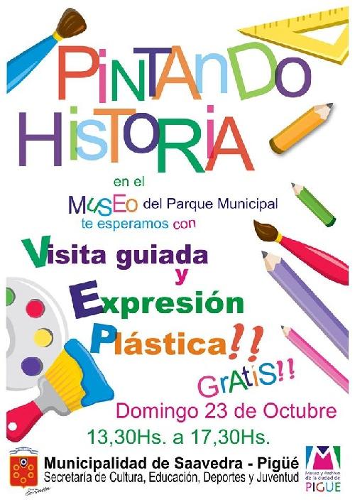 """"""" Pintando historia """" en el Museo y Archivo de la ciudad """""""