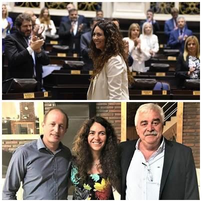 Marisol Merquel facilitó el quórum para que Diputados hiciera Ley la reforma jubilatoria en el Banco Provincia