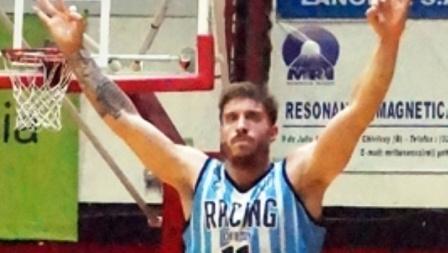 Liga Argentina - Erbel De Pietro junto a Racing comienza la gira entrerriana.