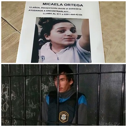 El asesino de Micaela  fue trasladado a la carcel de Saavedra. Hasta que fue detenido siguió con perfiles falsos engañando chicas en facebook