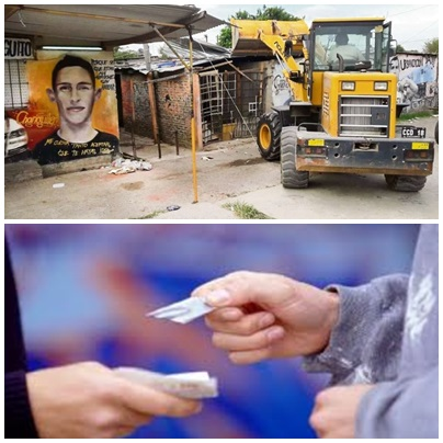 """Chicos de 6 y 7 años """"soldaditos"""" de narcos en La Matanza"""