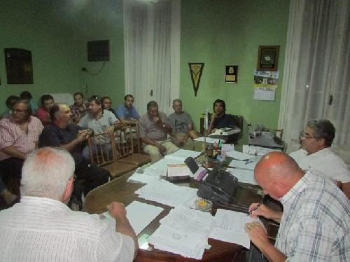 LRF - Reunión de la Liga - Novedades del día lunes.