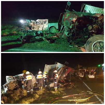 Triple colisión en la RP65 con victimas fatales, entre ellas un dirigente de Coninagro, vecino de Espartillar