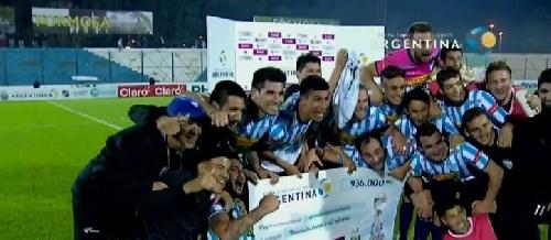Copa Argentina - Juventud Unida hace historia y pasa a cuartos de final al derrotar a Almagro. Martín Prost ingresó en el 2°Tiempo.