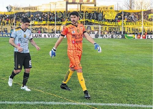 Nereo Champagne deja el arco de Olimpo para sumarse al fútbol español.