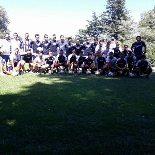 Club Sarmiento batió en amistoso a Porteño de Saldungaray con tres goles del Sebas Blanco.