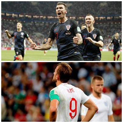 ¡¡¡  Gracias Croacia por la alegria !!! Los croatas le ganaron a Inglaterra 2-1 y son finalistas