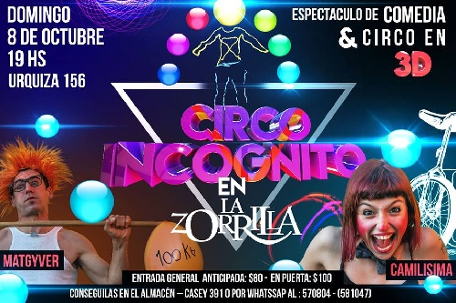 Nuevamente Circo en el Teatro La Zorrilla