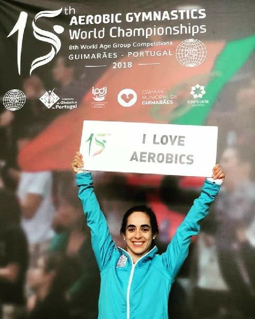 Comienza el Mundial de Gimnasia Aeróbica para Sol Magdaleno en Portugal.