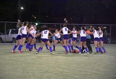 Hockey Femenino - Cef 83 Sub 16 venció a Sarmiento y fuerza otra final.