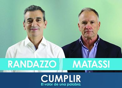 FRENTE JUSTICIALISTA CUMPLIR: Rodolfo Matassi