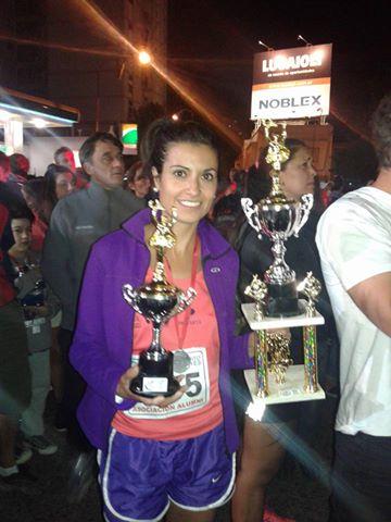 Yani Clair de nuestra ciudad décima en la maratón de reyes bahiense.