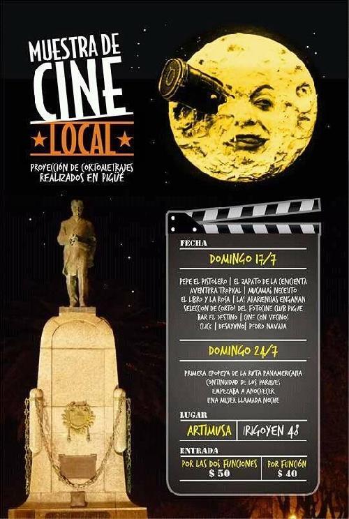 Cine: Muestra de cortometrajes realizados en Pigüé
