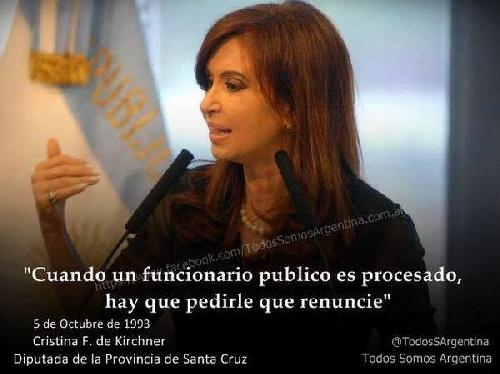 Según Transparencia Internacional, ONG con sede en Berlín, Alemania CFK es la segunda presidente mas corrupta del mundo