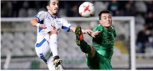 Futbol Chipre - Omonia Nicosia con Leo González suma una nueva derrota como local.