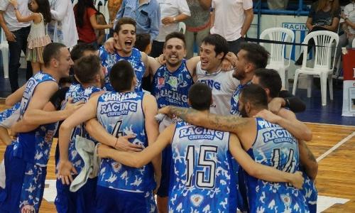 Basquet Federal - Tremenda victoria del Racing chivilcoyano ante Belgrano de San Nicolas - 21 puntos para DiPietro.