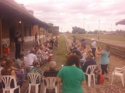 Saavedra: Segunda Asamblea de Pueblos por el Tren