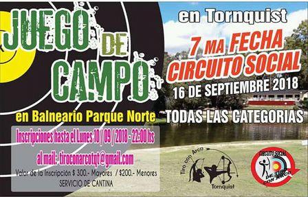 Arqueria - Participantes pigüenses formarán parte de la 7ma fecha en Tornquist.