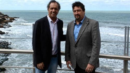Daniel Scioli presentó al gobernador Maurice Closs como su futuro ministro de Turismo y Deporte